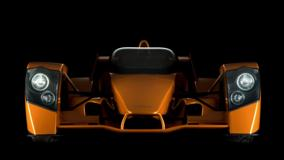 Front Pose Of Caparo T1 World's Fastest Supercar