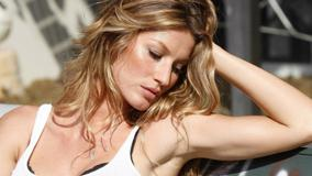 Gisele Bundchen Sexy Side Face Photoshoot