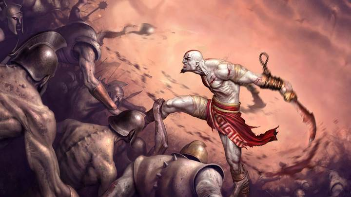 God Of War Ii Fighting