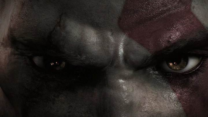 God Of War III – Eyes Closeup