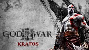 God Of War Kratos On Grey Background