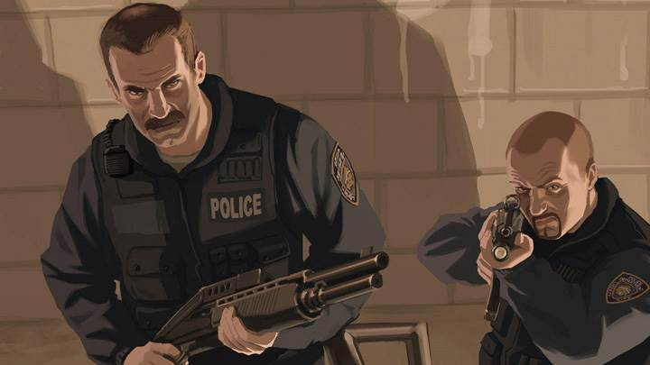 Grand Theft Auto 4 – Police Officers