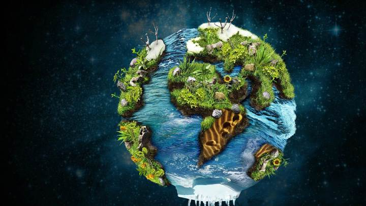 Green Earth Imagination