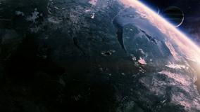 Green Earth View From Space
