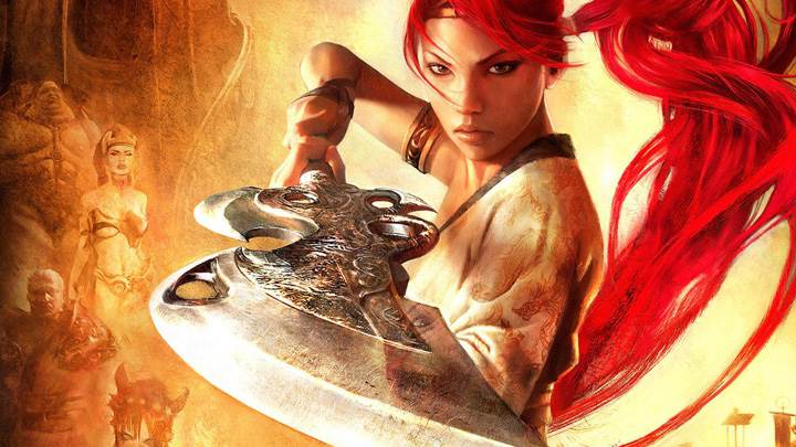 Heavenly Sword – Nariko With Big Sword