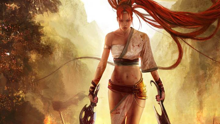 Heavenly Sword – Nariko With Two Swords