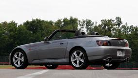 Honda S2000 2008 In Grey Side Pose