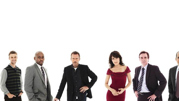 House M.D – All Characters N White Background