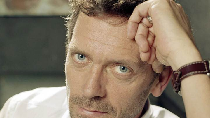 Hugh Laurie Looking At Camera