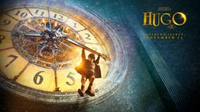 Hugo 2011 Movie Hanging On Clock