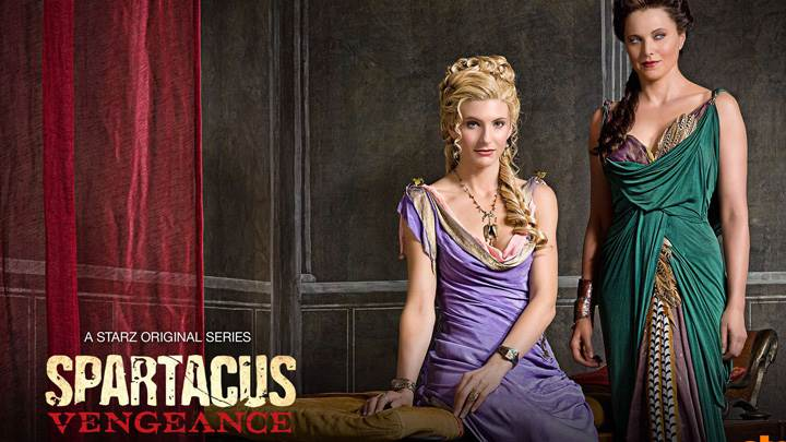 Spartacus – Vengeance – Lucy Lawless And Viva Bianca