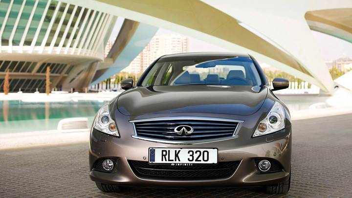 Infiniti G37 Saloon 2010 Front Pose In Brown