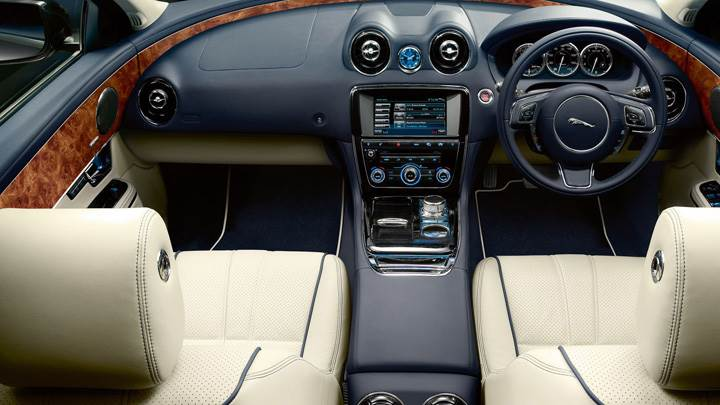 Interior Of Jaguar XJ