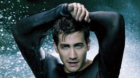 Jake Gyllenhaal In Wet Black T-Shirt Photoshoot