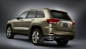 Jeep Grand Cherokee Limited 2011 Back Side Pose