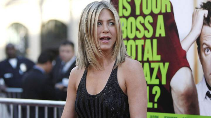 Jennifer Aniston In Black Top At Horrible Bosses Premiere In Hollywood