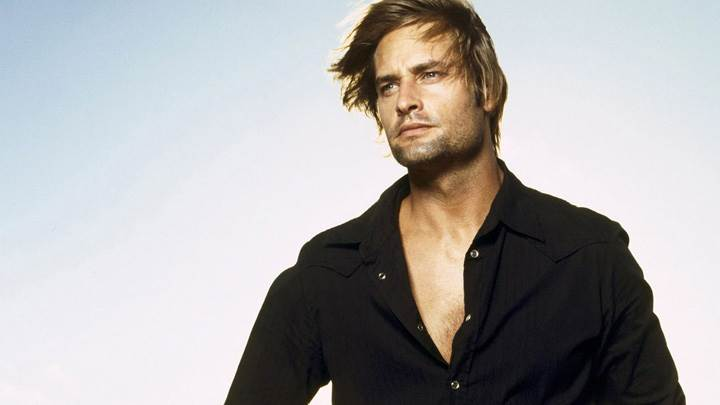 Josh Holloway Looking Hot In Black Shirt Photoshoot