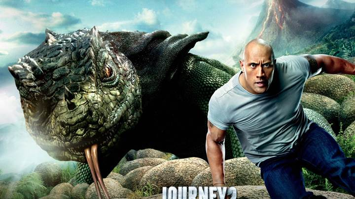 Journey 2 – The Mysterious Island – Dwayne Johnson Running