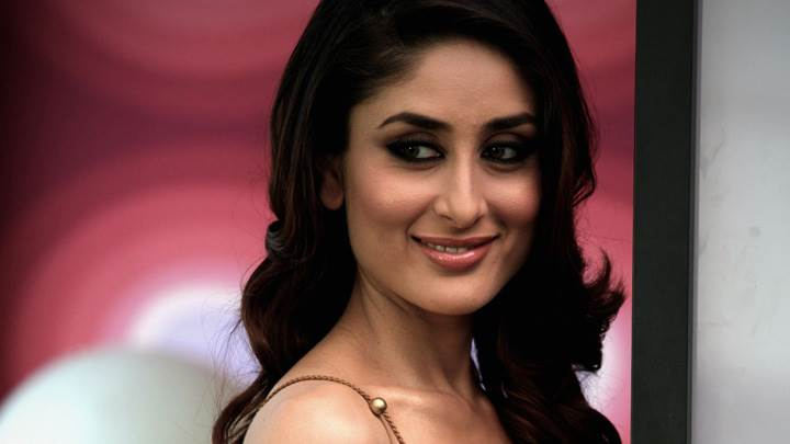 Kareena Kapoor Cute Eyes Sweet Smiling Face Photoshoot