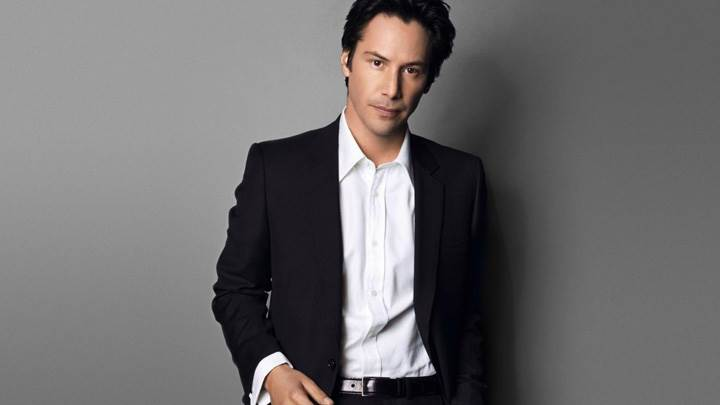 Keanu Reeves In Black Coat Smart Looking Photoshoot