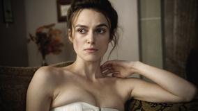 Keira Knightley Sitting On Sofa N Sad Face Photoshoot