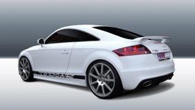 Kw Audi Ttrs Side Pose In White Color