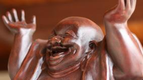 Laughing Budha Face Closeup