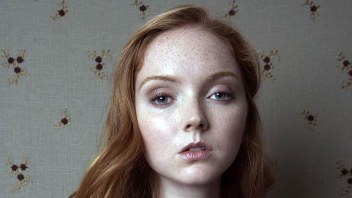 Lily Cole Modeling Pose Face Photoshoot
