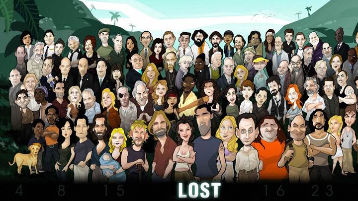Lost Cartoon Characters