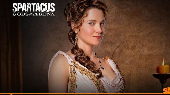 Spartacus – God Of The Arena – Lucy Lawless As Lucretia