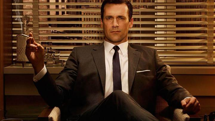 Mad Men – Jon Hamm Sitting Pose
