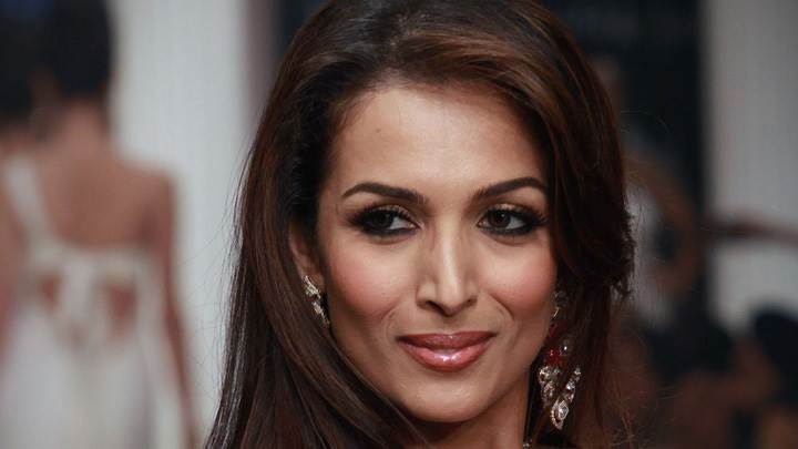 Malaika Arora Cute Smiling Face Closeup
