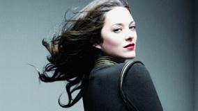Marion Cotillard In Black Top Side Pose Photoshoot