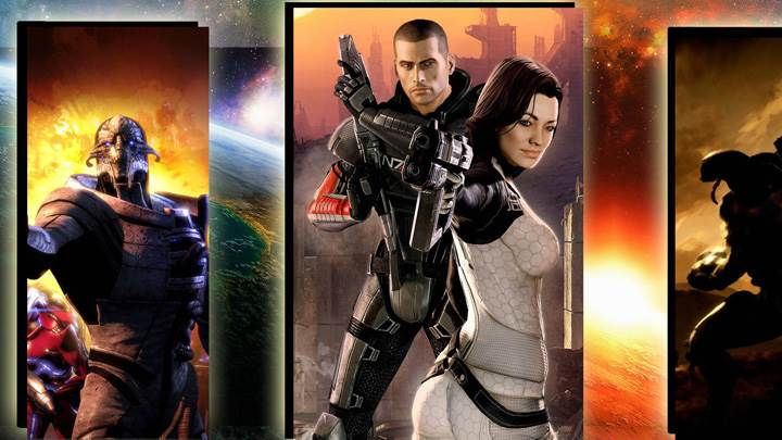 Mass Effect 2 – Pointing Gun