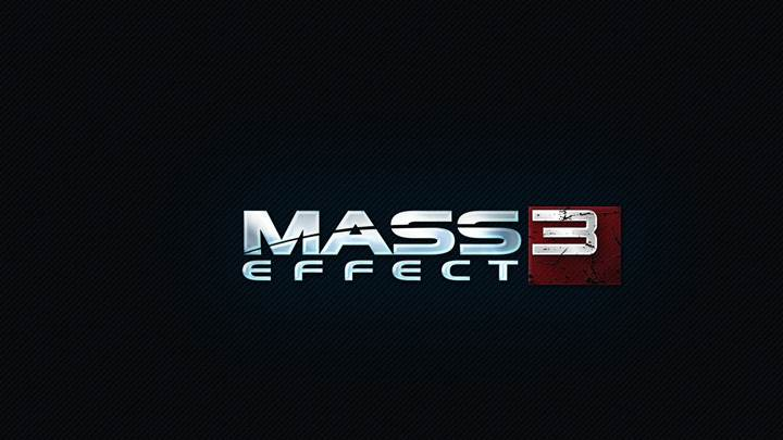 Mass Effect 3 – Logo On Black Background