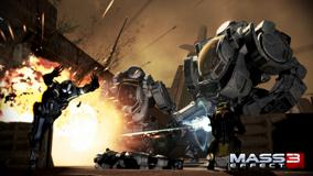 Mass Effect 3 Robots Are Attacking