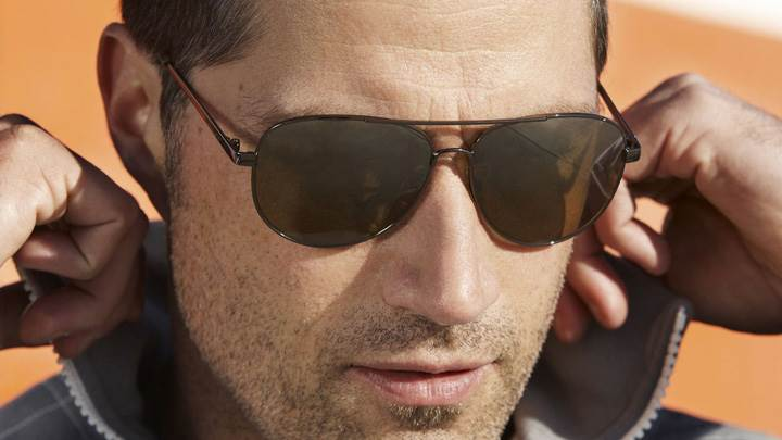 Matthew Fox In Goggles Face Closeup
