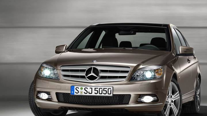 Mercedes-Benz C Class Special Edition In Brown Front Pose