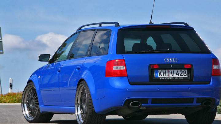 Mfk Powercar Audi Rs6 Back Pose In Blue Color