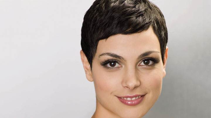 Morena Baccarin Cute Eyes Sweet Smiling Face Photoshoot