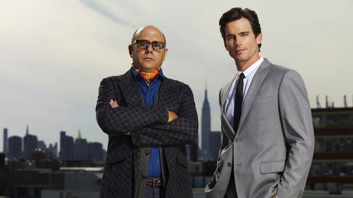 Mozzie And Neal Caffrey In Coat Photoshoot