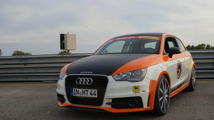 Mtm Audi A1 Nardo Edition In White Orange Color