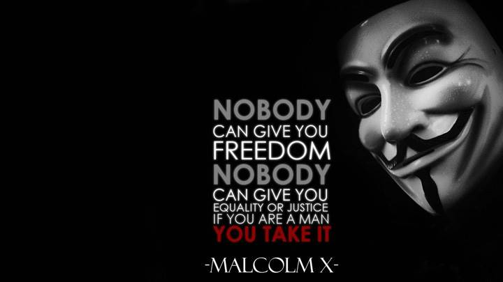 No Body Can Give You Freedom