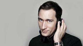 Paul Van Dyk Enjoying Music Smiling Photoshoot