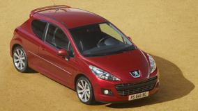 Peugeot 207 GTi THP 175 Restyled In Red Top Pose