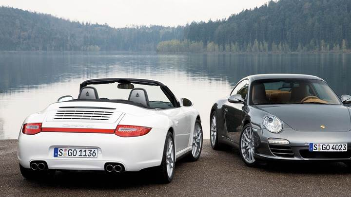 Porsche 911 Carrera 4 And Carrera 4S White Vs Grey