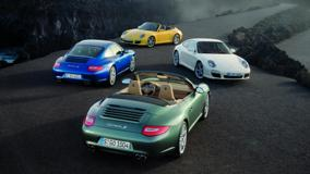 Porsche 911 Carrera S All Colors On Road