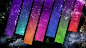 Rainbow Stripes Abstract Wallpaper
