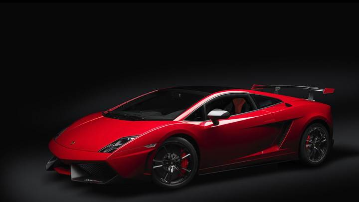 Red Color 2012 Lamborghini Gallardo Lp 570