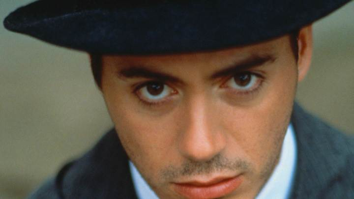 Robert Downey Jr. Looking At Camera Face Closeup